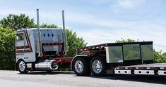 Big Rig Trucks, Semi Trucks, Cool Trucks, Peterbilt 359, Peterbilt Trucks, Customised Trucks, Custom Trucks, Agricultural Engineering, Cab Over