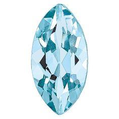 AQUAMARINE, 10X5MM MARQUISE, AA QUALITY / STYLE: AQ-1005-MQF-AA #QualityGold #Birthstones #Gemstones #Aquamarine #jewelry Aquamarine Jewelry, Birthstone Jewelry, Gemstone Jewelry, Crazy Colour, Peridot, Birthstones, Jewels, Gemstones, Sterling Silver