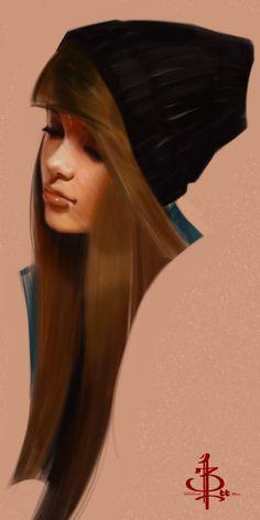 timed head sketch 1153 by FUNKYMONKEY1945.deviantart.com on @DeviantArt