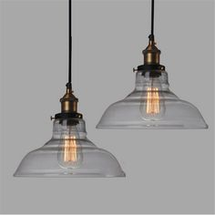 New modern vintage industrial retro loft glass ceiling lamp shade e27 28cm vintage industrial ceiling lamp shade glass pendant lights aloadofball Images