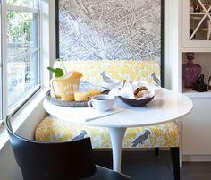 Click Pic for 40+ Small Apartment Ideas | Window seat dining area studi apartment | Studio Apartment Decorating Ideas