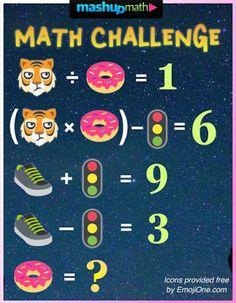 4 Ways to Fill 5 Minutes in the Secondary Math Classroom Math Quizzes, Math Worksheets, Math Resources, Math Games, Math Activities, Math Teacher, Math Classroom, Teaching Math, Math For Kids