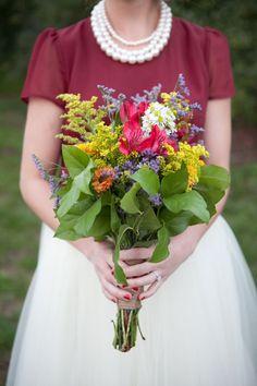 Autumn Bouquet - Florals by Red Heels Events, Hetler Photography