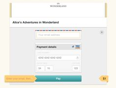 Payment Example from Gumroad