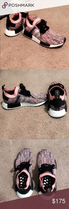 Adidas NMD for sale (Brand New Condition) Size 8 in women's and fits a 7 1/2 in women's also. Most comfortable shoe made. adidas Shoes Sneakers