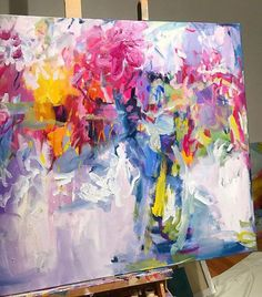 """Determine even more details on """"abstract art paintings acrylics"""". Visit our website. The Effective Pictures We Offer You About my ideas quotes A quality … Arte Fashion, Acrylic Painting Tips, Acrylic Art Paintings, Abstract Painting Techniques, Pink Painting, Portrait Paintings, Painting Abstract, Contemporary Abstract Art, Contemporary Artists"""