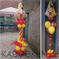 Bumba ballonnen, Bumba ballons voor binnen en voor buiten, 1e verjaardag, versiering verjaardag, heliumballons, ballons, ballondecoratie www.kadooken.be Kids Birthday Presents, Balloon Columns, Baby Boy, Baby Kids, Holidays And Events, 2nd Birthday, Party Time, First Birthdays, Maya
