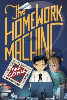 the homework machine by dan gutman lesson plans