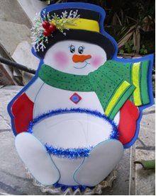 Snowman Christmas box
