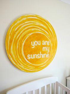 DIY artwork to brighten children's rooms from @Christie Moffatt Burnett @Christie Burnett @Childhood101