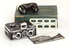Simda Panorascope - Rare French Stereo Camera - Near Mint!   eBay