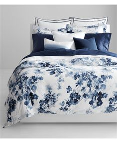 Twin Bed Sets With Comforter Refferal: 3873957844 Blue Comforter Sets, Queen Comforter Sets, Blue Bedding, Duvet Sets, Linen Bedding, Bed Linens, Queen Duvet, Floral Comforter, Luxury Bedding Collections
