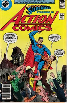 Action Comics 499  September 1979 Issue  DC Comics  by ViewObscura