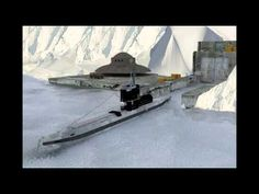 Agartha UFO Base Antarctica