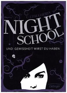 Lesendes Katzenpersonal: [Rezension] C. J. Daugherty - Night School: Und Ge...