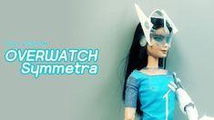 Doll Custom - Overwatch Symmetra - YouTube Diy Ooak Doll, Ooak Dolls, Barbie Dolls, Overwatch Symmetra, Youtube, How To Make, Barbie Doll, Youtubers, Youtube Movies
