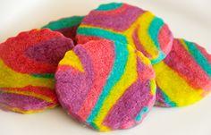 rainbow cookies :) i love sweets!