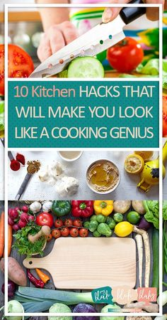 10 Kitchen Hacks That Will Make You Look Like A Cooking Genius