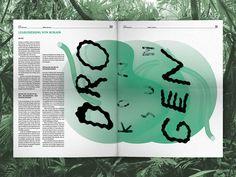 ALARMA! Heft Eins — Koka ist nicht Kokain | Slanted - Typo Weblog und Magazin