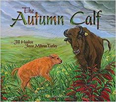 Cover illustration for The Autumn Calf, part of the LTER Schoolyard Series funded by the National Science Foundation; Narrative Non-fiction for Children Kansas Day, National Science Foundation, Trade Books, Environmental Education, Book Illustration, Book Activities, Nonfiction, Calves, Autumn