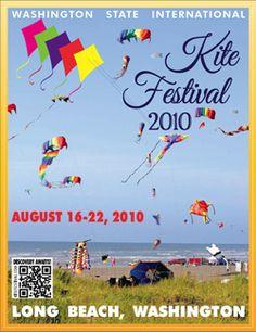 Yearly Long Beach Washington Kite Festival