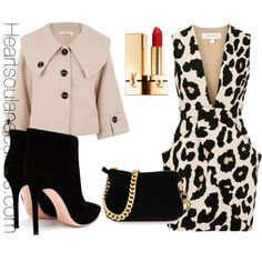 A fashion look from February 2014 featuring Finders Keepers dresses, Gianvito Rossi ankle booties and Giuseppe Zanotti clutches. Browse and shop related looks.