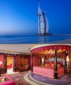 Royal Suite at Burj Al Arab, Dubai Honeymoon Packages | www.uhpltd.com | Universal Holidays Private Limited - Chennai,India.