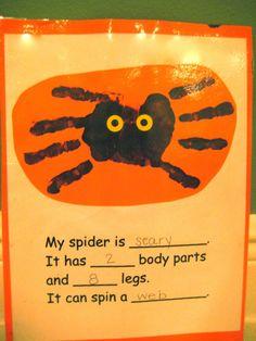 Classroom Freebies: Spiders!