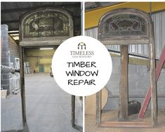 Conservation of timber windows