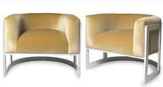 Buy Half Moon Chair - Club Chairs - Seating - Furniture - Dering Hall