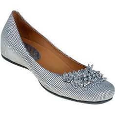 Earthies's Silver Suede Valla for Women $159 Comfortable Dress Shoes, Loafers, Comfy, Stylish, Lady, Silver, Fashion, Fences, Travel Shoes