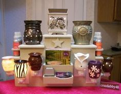 KING Display Tower for Scentsy/PartyLite PlugIn Warmer