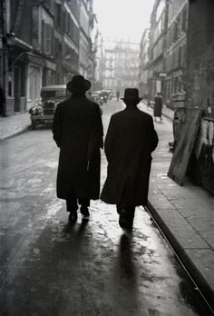Fred Stein - Paris jewish quarter 1935
