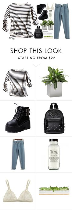 """""""#Romwe"""" by credentovideos ❤ liked on Polyvore featuring Jan Kurtz, La Perla, Bambeco, women's clothing, women, female, woman, misses and juniors"""