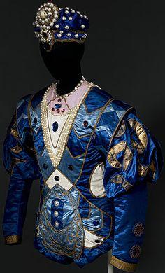 Léon Bakst - Ballets Russes - Costume - L'oiseau bleu - La Belle au Bois Dormant - 1921