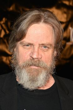 Mark Hamill sports fuller beard and longer hair for STAR WARS EPISODE VII while reunited with costar Carrie Fisher at the Golden Heart Gala in LA, 9/30/14 - Imgur