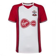 1d4cf32665d Southampton FC 2017-18 Season Home The Saints Shirt Jersey  K504  Southampton  Football