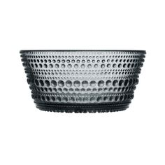 home accessories glass Iittala Kastehelmi Bowl In Grey Dessert Bowls, Pressed Glass, Dinnerware, Playstation, Home Accessories, Decorative Bowls, Glass Art, Glass Beads, Helmet