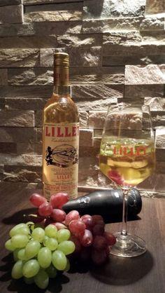 Lillet Elite Vodka Bottle, Cocktails, Wine, Food, Craft Cocktails, Essen, Cocktail, Meals, Yemek