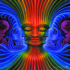 Interbeing - Alex Grey - www.alexgrey.com