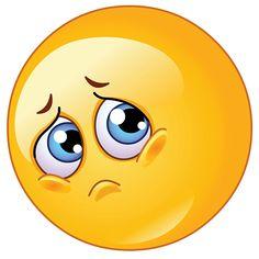 Illustration about Cute emoticon making a sad face. Illustration of color, cartoon, emoji - 18589362 Smiley Emoticon, Emoticon Faces, Funny Emoji Faces, Cute Emoji, Smiley Smile, Facebook Emoticons, Animated Emoticons, Funny Emoticons, Images Emoji