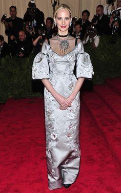 Met Gala 2013 - Lauren Santo Domingo wearing Dolce & Gabbana