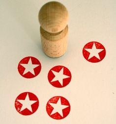 Weiteres - Stempel Stern negativ - ein Designerstück von perlenfischer bei DaWanda