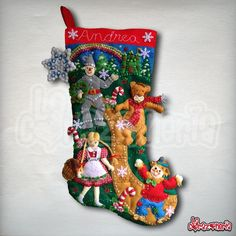 Christmas Ideas, Christmas Crafts, Christmas Ornaments, Tablescapes, Christmas Stockings, Craft Projects, My Favorite Things, Holiday Decor, Fabric