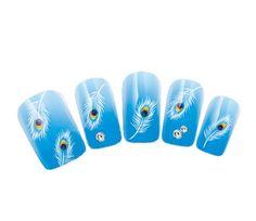 Nicedeco - Beautiful & Fun & Colorful & Fashion nail stickers/tattoo/deacl water transfer water transfer decals Peacock Eye Black & Fluffy Swan Feathers Design ,Greatly Positive Feedback From Buyer. Nicedeco http://www.amazon.com/dp/B00JJIP0U4/ref=cm_sw_r_pi_dp_U282ub1TW7ECW