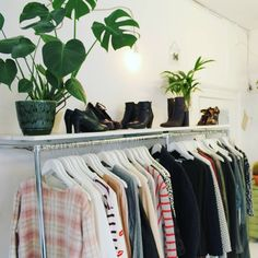 . Modern secondhand clothing, handmade items from Dutch designers + vintage…