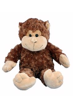 61e8f13f210 Rosco - Plush Monkey with Heart Shaped Recorder for Capturing Baby s  Heartbeat!