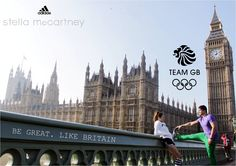 London Marathon Stella Mccartney Team Gb, Stella Mccartney Adidas, London Marathon, Half Marathon Training, Big Ben, Britain, Running, Building, Tattoo Ideas