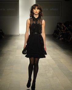 #BoraAksu little black dress.