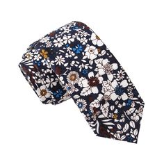 Skinny Tie Madness Men's Careful Whisper Novelty Print Novelty Tie